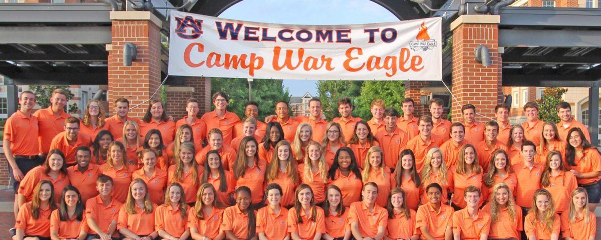 2018 Camp War Eagle Counselors